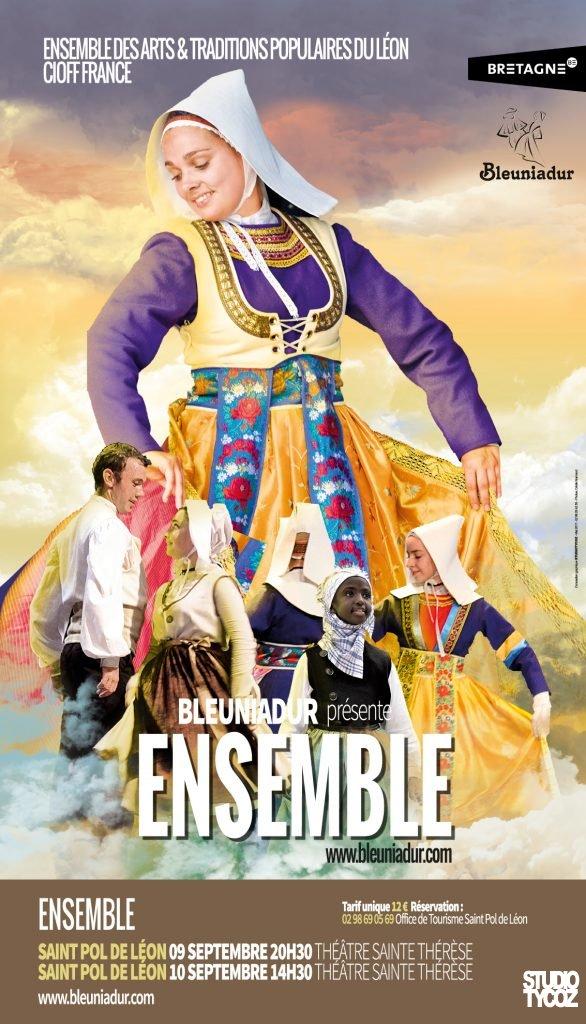 Affiche du Spectacle Bleuniadur 2017