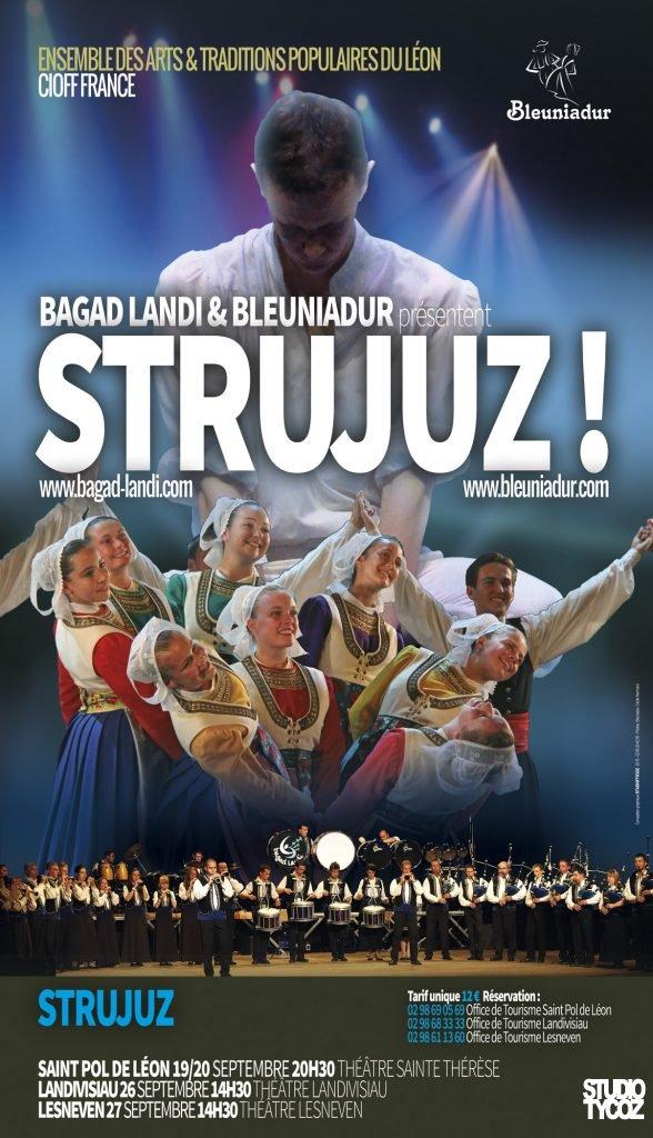 Affiche du Spectacle Bleuniadur 2015