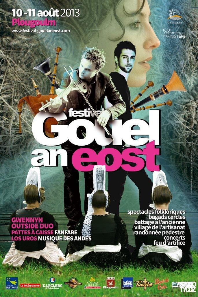 Affiche du festival Gouel an Eost 2013