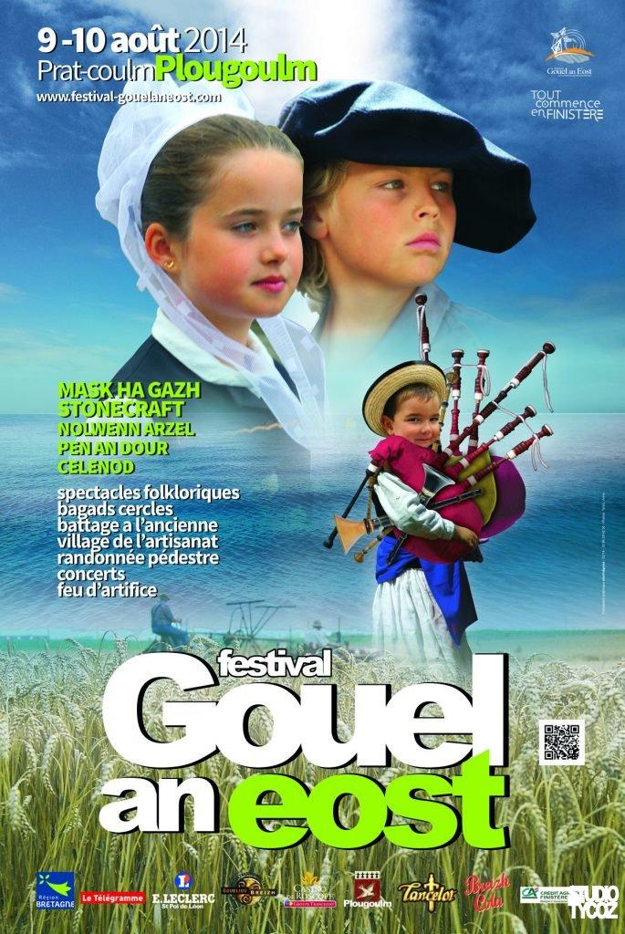 Affiche du festival Gouel an Eost 2014