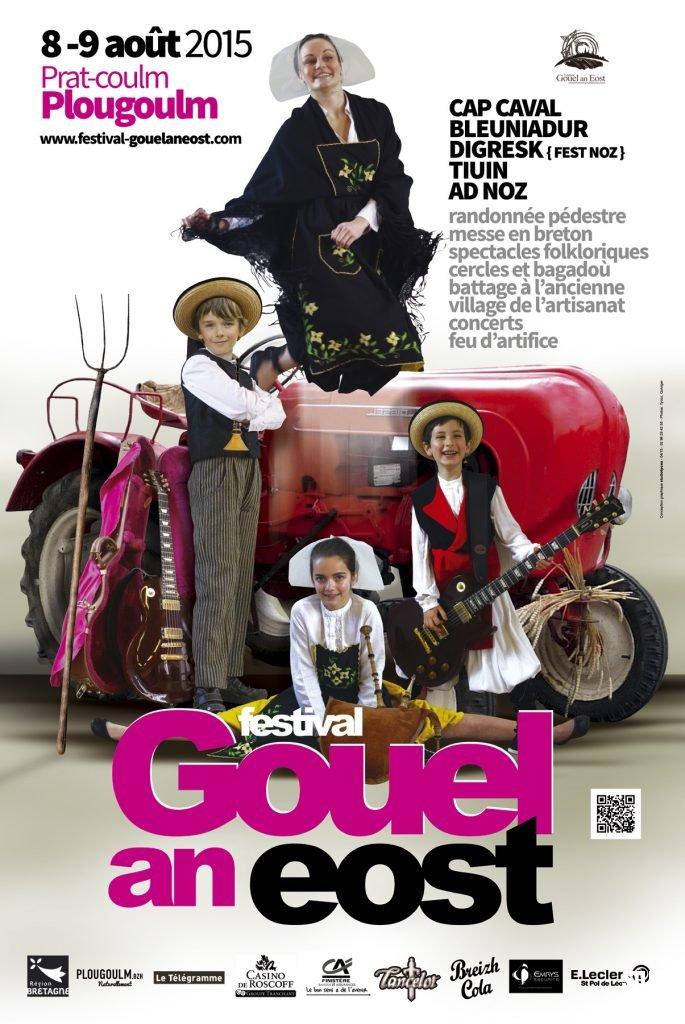 Affiche du festival Gouel an Eost 2015
