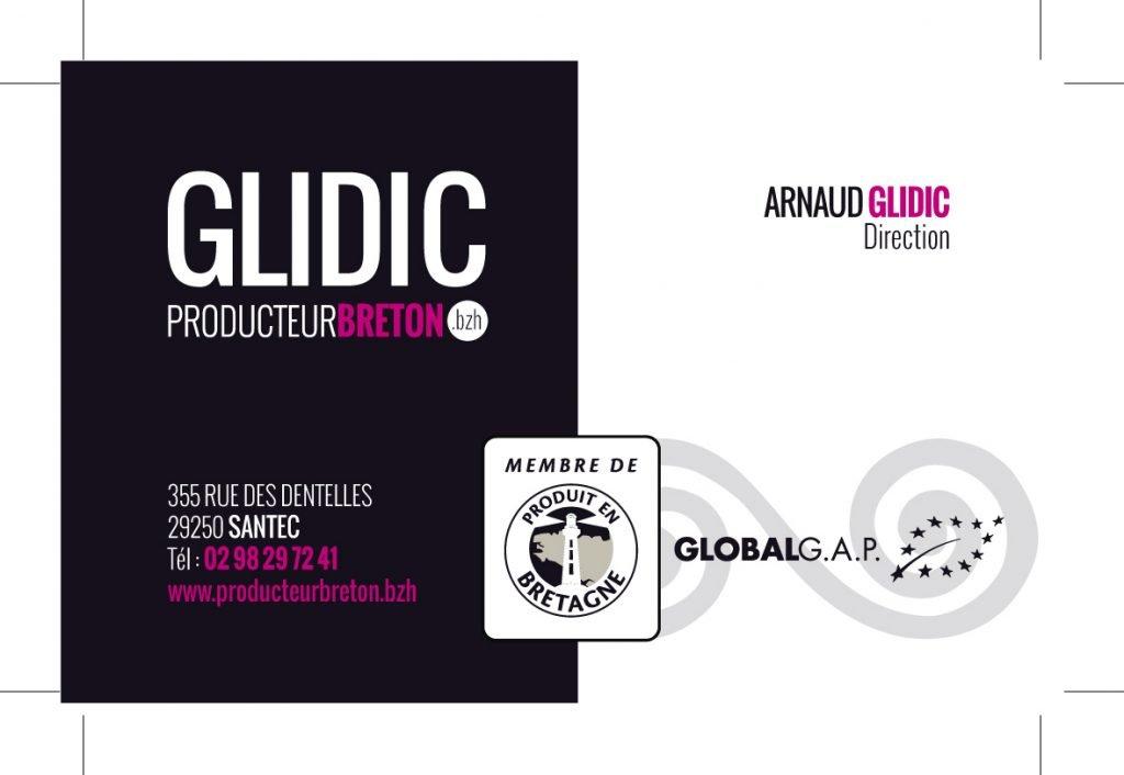 Cartes de visite Glidic